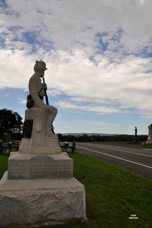 Thousands of Confederates poured down the Chambersburg Pike on July 1.